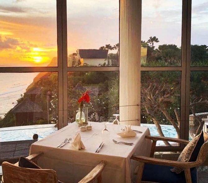 Restoran di Mare Karma Kandara 1 » Restoran di Mare Karma Kandara yang Menawarkan Suasana Romantis Tepi Pantai