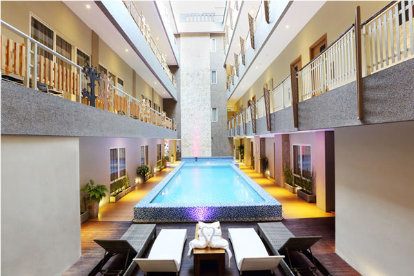 Rivavi Kuta Beach Hotel 1 » Rivavi Kuta Beach Hotel, Hotel Murah di Pusat Keramaian Legian Kuta