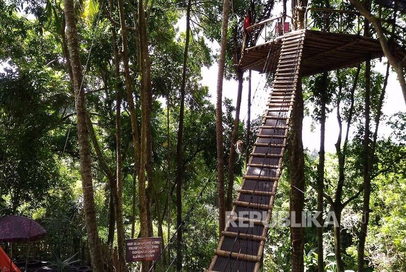 Rumah Pohon Temega Karangasem 1 » Rumah Pohon Temega Karangasem, Tempat Rekreasi Dan Edukatif Di Bali