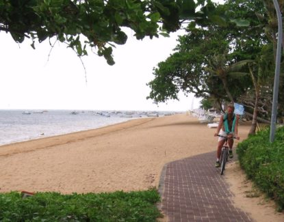 Sanur Street Beach Walk