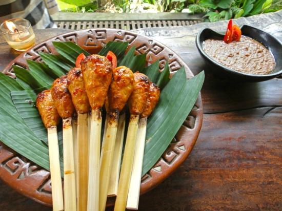 Sate Kablet Khas Bali