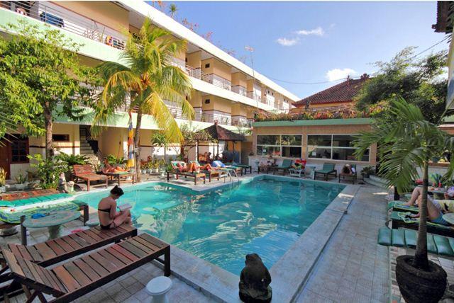 Sayang Maha Mertha Hotel Legian 1 » Sayang Maha Mertha Hotel Legian, Tempat Menginap Murah 100 Ribuan dengan Fasilitas Kolam Renang
