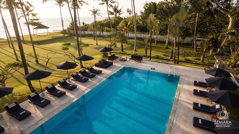 Semara Beach House Canggu, Vila Tepi Pantai dengan Suasana yang Nyaman dan Mewah