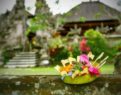 Sesajen Canang Sari di Bali