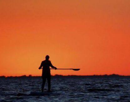 Stand Up Paddle di Pantai Sanur