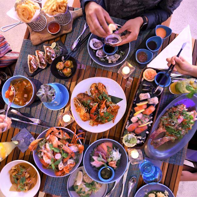 Starfish Bloo Seminyak 5 » Starfish Bloo Seminyak, Restoran Mewah Tepi Pantai yang Menawarkan Konsep Bersantap Elegan