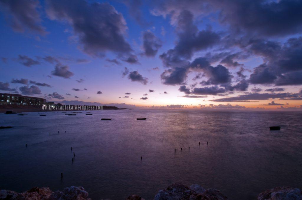 Suasana pagi yang memukai di Pantai Geger Nusa Dua 1024x680 » Pantai Geger Nusa Dua, Pantai Pasir Putih yang Alami