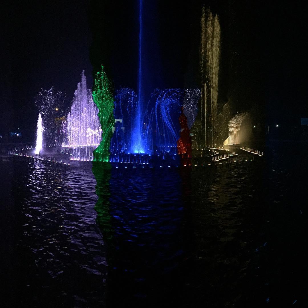 Taman Kota Lumintang Denpasar, Sajikan Keindahan Air Mancur Menari yang Memesona