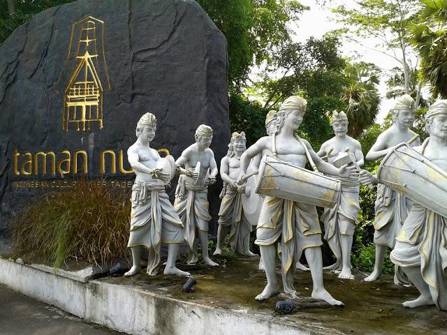 Taman Nusa Gianyar, Wisata Budaya ala TMII dari Bali