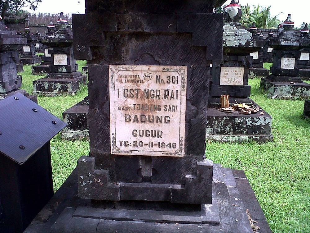 Taman Pahlawan Margarana Tabanan 2 » Taman Pahlawan Margarana Tabanan, Wisata Sejarah Mengenang Perjuangan I Gusti Ngurah Rai