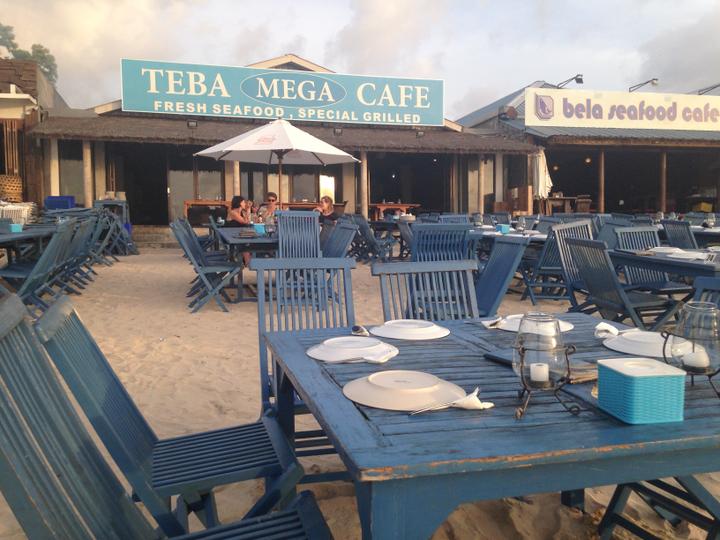 Teba Mega Cafe Jimbaran 1 » Teba Mega Cafe Jimbaran, Sajian Seafood Paling Enak dengan Suasana Tepi Pantai