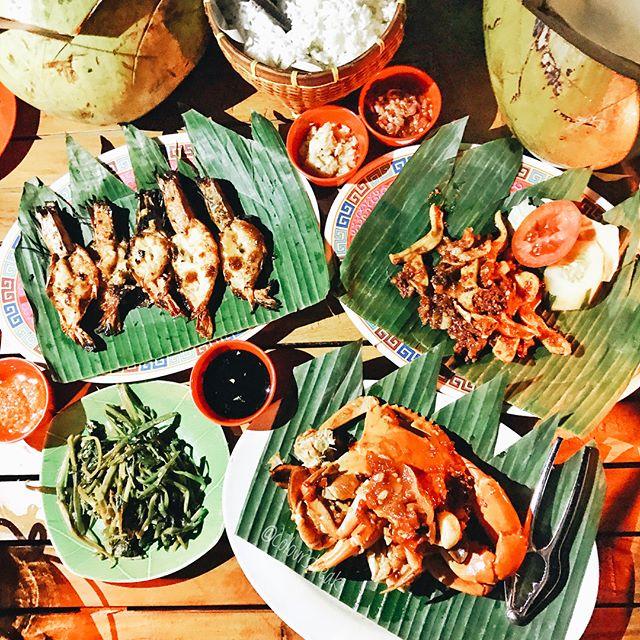 Teba Mega Cafe Jimbaran, Sajian Seafood Paling Enak dengan Suasana Tepi Pantai