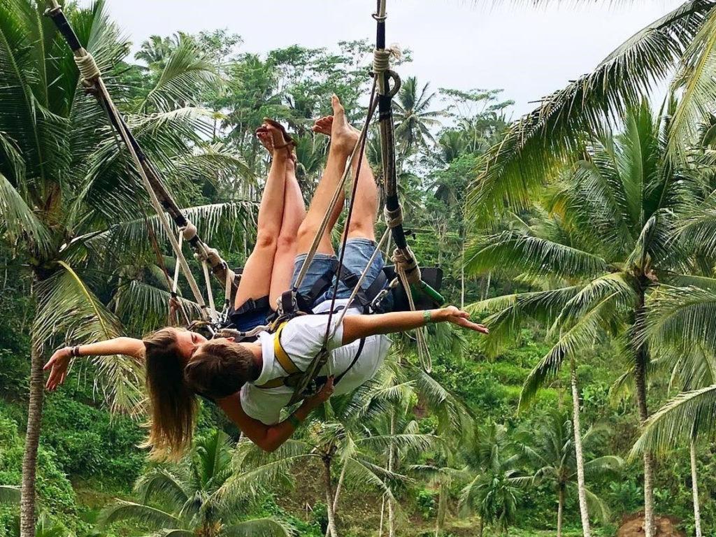 Terrace River Pool Swing Ubud 2 1024x768 » Terrace River Pool Swing Ubud, Sensasi Naik Ayunan Ekstrem yang Hits di Bali