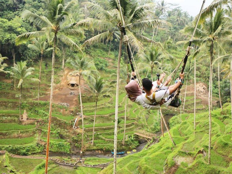 Terrace River Pool Swing Ubud 4 » Terrace River Pool Swing Ubud, Sensasi Naik Ayunan Ekstrem yang Hits di Bali