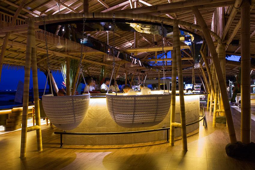 The Bamboo Bar Pantai Sanur