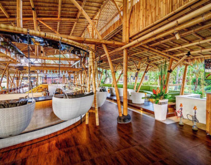 The Bamboo Bar Pantai Sanur