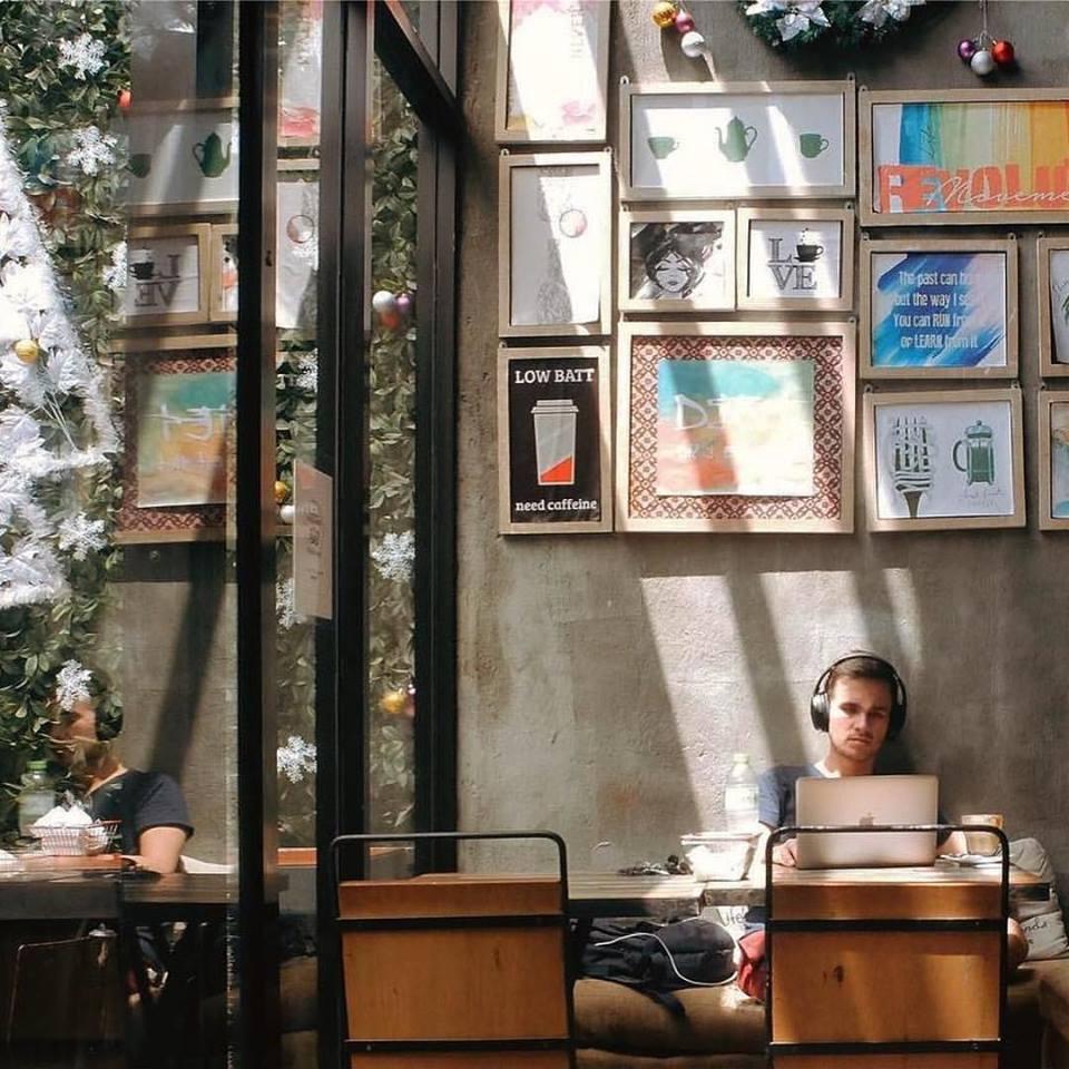 The Coffee Library Seminyak 1 » The Coffee Library Seminyak, Kafe dengan Suasana Nyaman dan Instagramable Banget