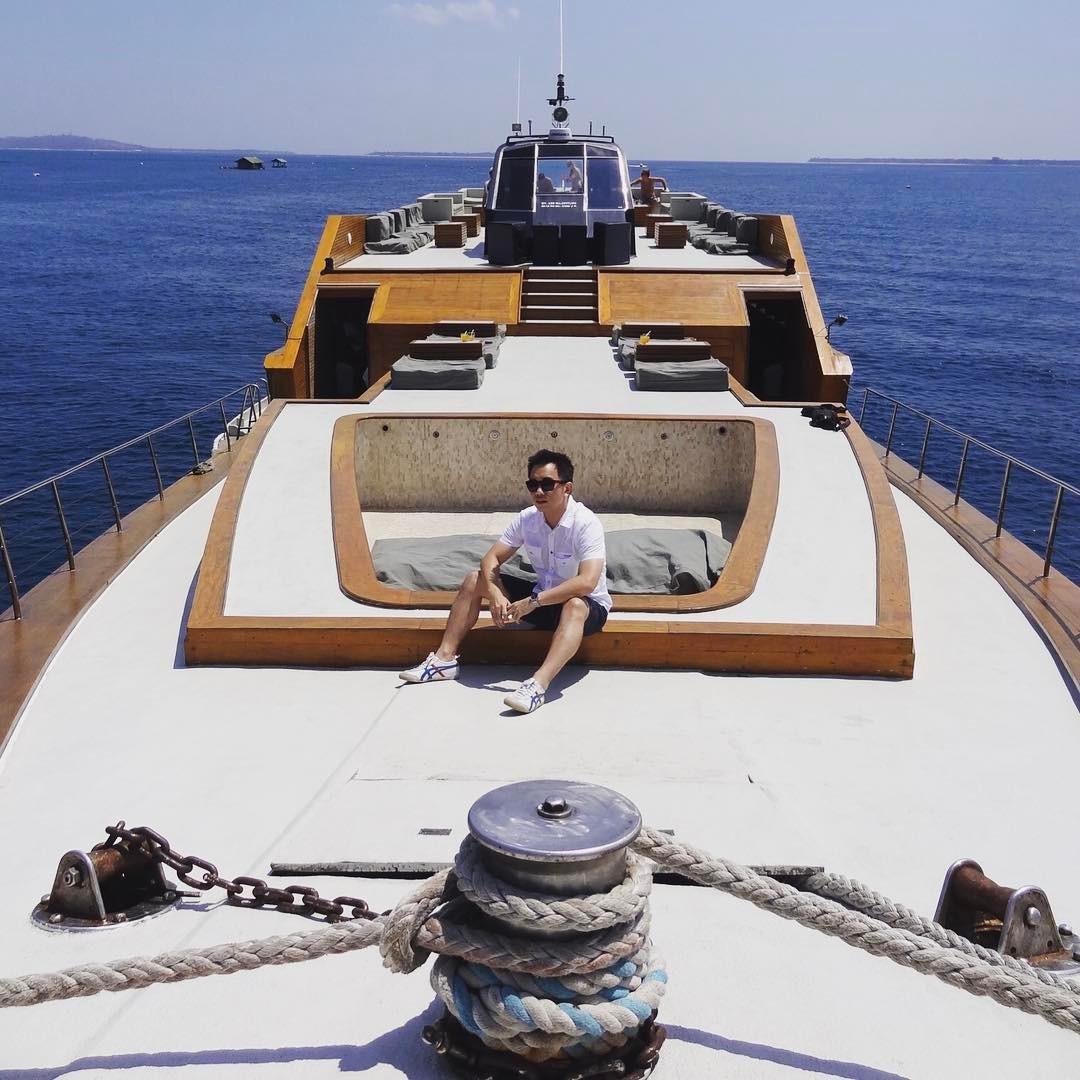 The Dragon 130 Phinisi Yacht, Sensasi Menginap yang Unik di Atas Perahu Pinisi