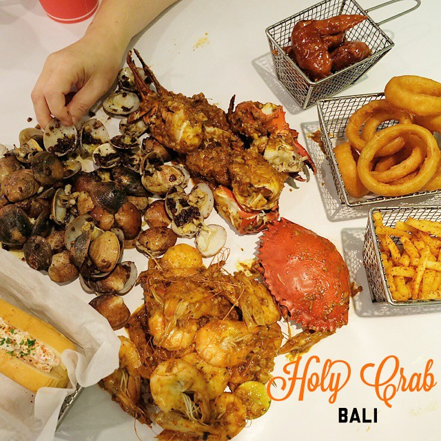 The Holy Crab Bali 2 » The Holy Crab Bali, Surga Para Pencinta Kuliner Seafood di Kuta
