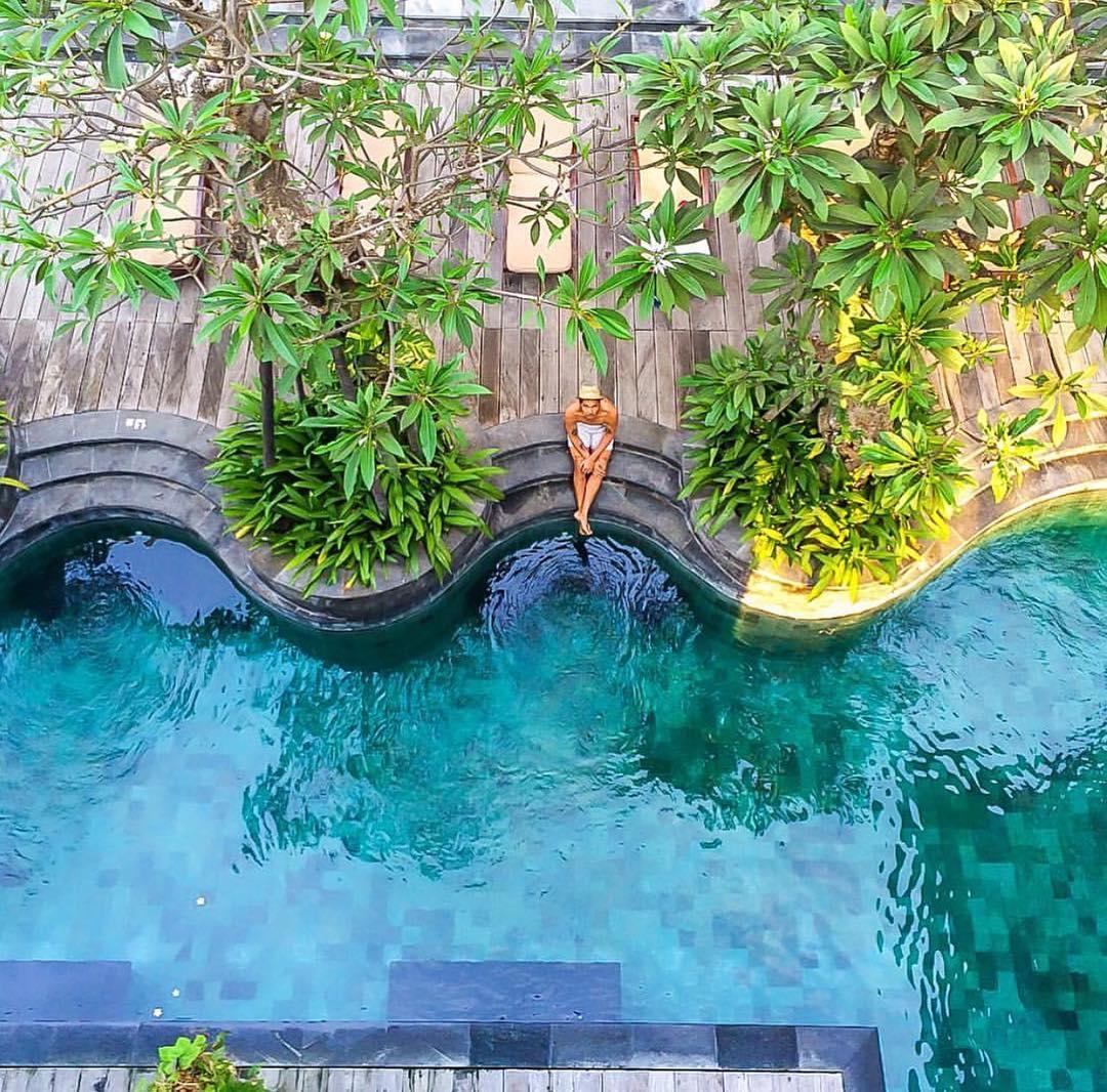 The Oasis Lagoon Sanur, Hotel Ekslusif dengan Kolam Renang ala Laguna Tepi Pantai
