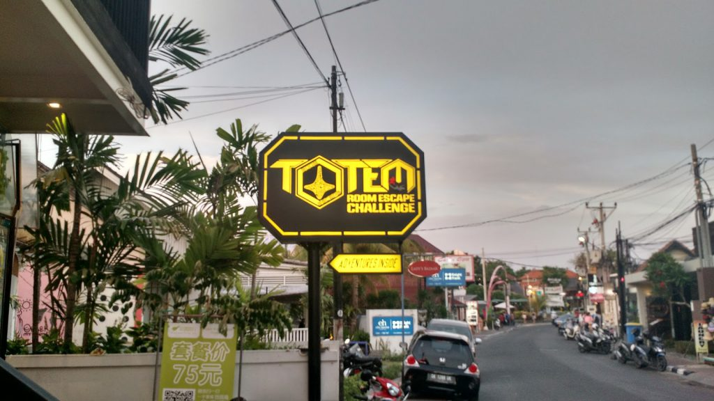 Totem Room Escape Bali