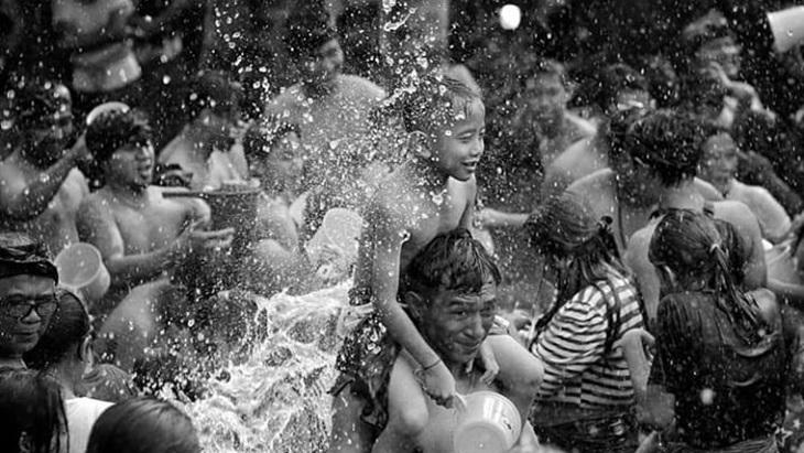 Tradisi perang air di Bali 3 » Tradisi Perang Air di Bali, Cara Masyarakat Suwat Merayakan Tahun Baru