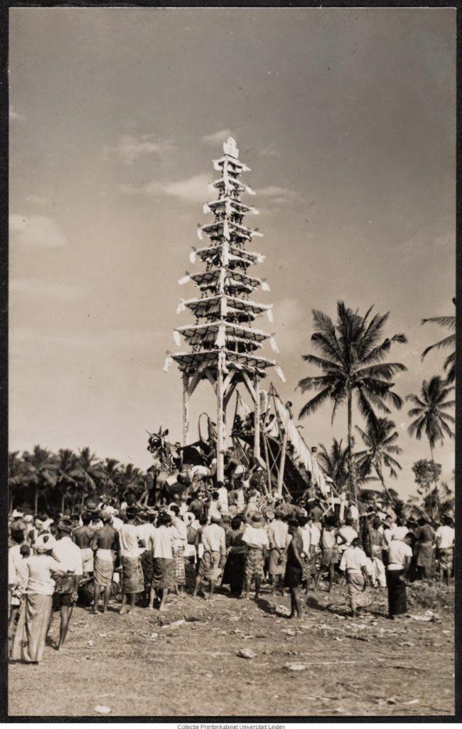 Upacara Ngaben di Bali Zaman Dulu