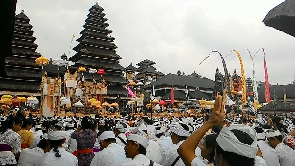 Upacara Panca Wali Krama, Tradisi 10 Tahunan di Pura Besakih Bali