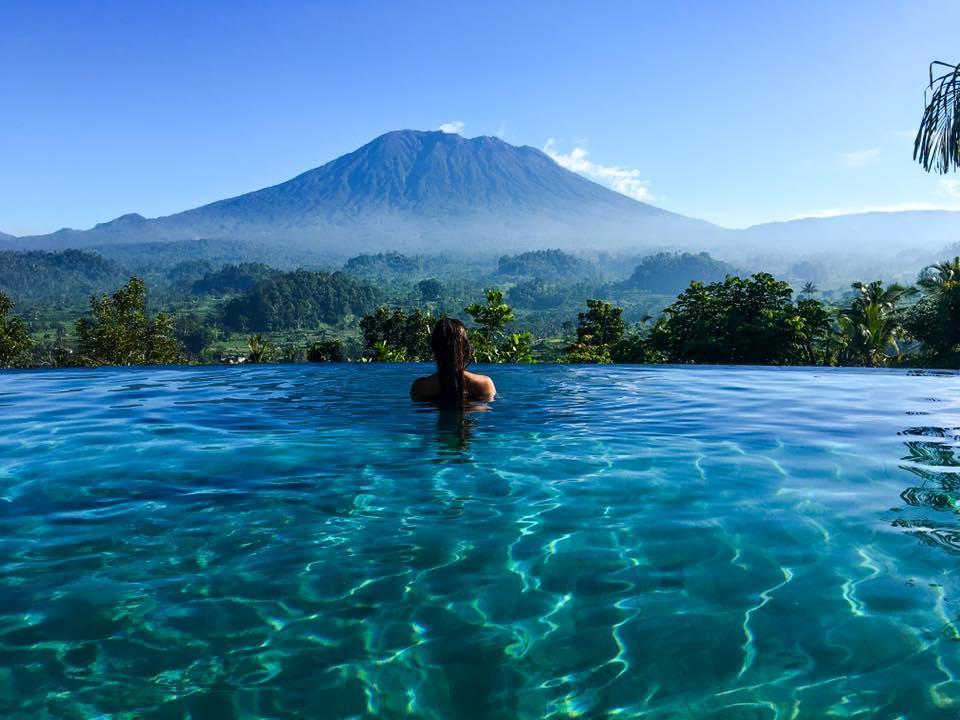 Villa Sidemen Bali, Penginapan Romantis dengan Pemandangan Gunung Agung yang Memukau di Depan Mata