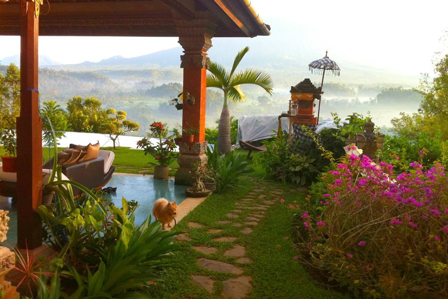 Villa Sidemen Bali 6 » Villa Sidemen Bali, Penginapan Romantis dengan Pemandangan Gunung Agung yang Memukau di Depan Mata