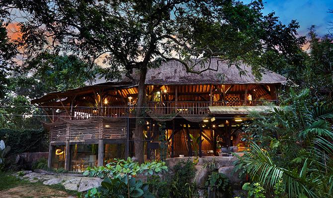 Wana Restaurant Bali Zoo 2 » Wana Restaurant Bali Zoo, Sensasi Kuliner Menantang dengan Ditemani Singa Raja Hutan