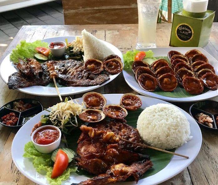 Warung Lais Denpasar 3 » Enaknya Seafood Super Laris di Warung Lais Denpasar