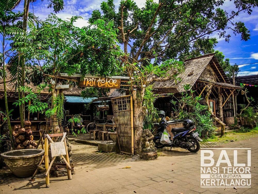 Warung Tekor Denpasar, Sajikan Kuliner Legendaris Khas Bali Nasi Tekor