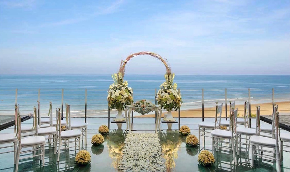 Water Wedding Anantara Penthouse