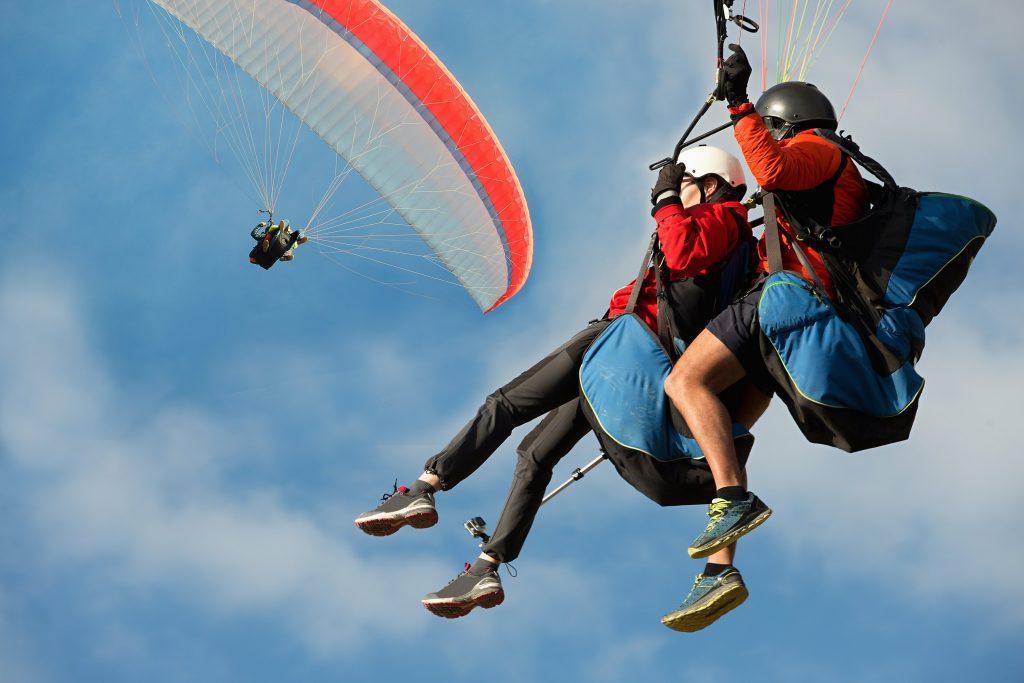Wisata Paragliding Bukit Riug 2 1024x683 » Wisata Paragliding Bukit Riug, Aktivitas Menantang Menikmati Keindahan Pantai   Pandawa dari Ketinggian