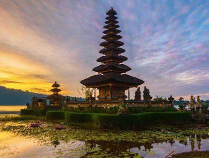 Wisata pura instagenic di Bali