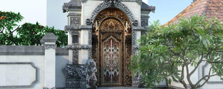 angkul-angkul gerbang tradisional khas Bali