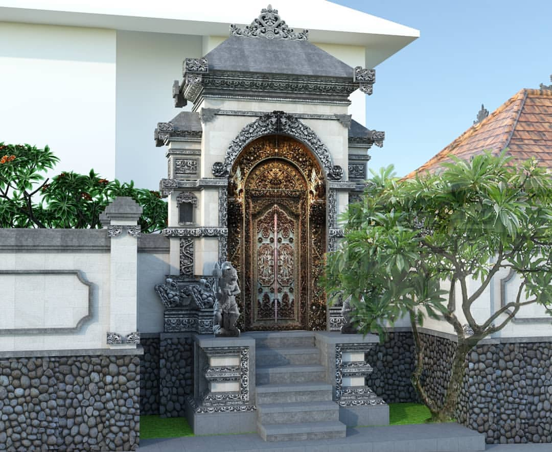 Mengenal Apa Itu Angkul-Angkul, Bangunan Tradisional Khas Bali yang Kaya Makna
