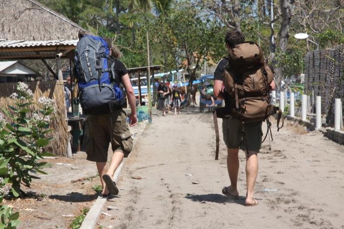 backpacker bali