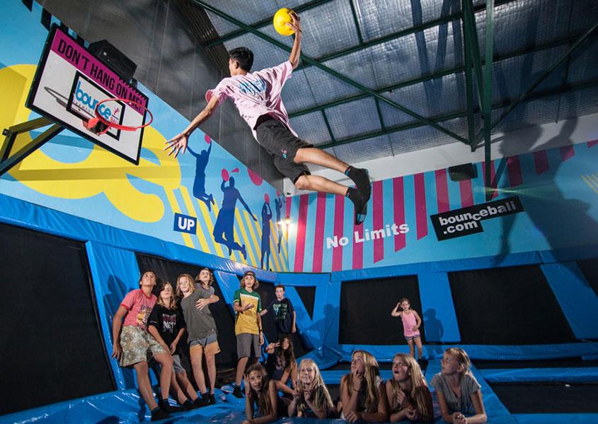 Bounce Bali Trampoline Centre, Arena Liburan Segala Usia yang Menghibur
