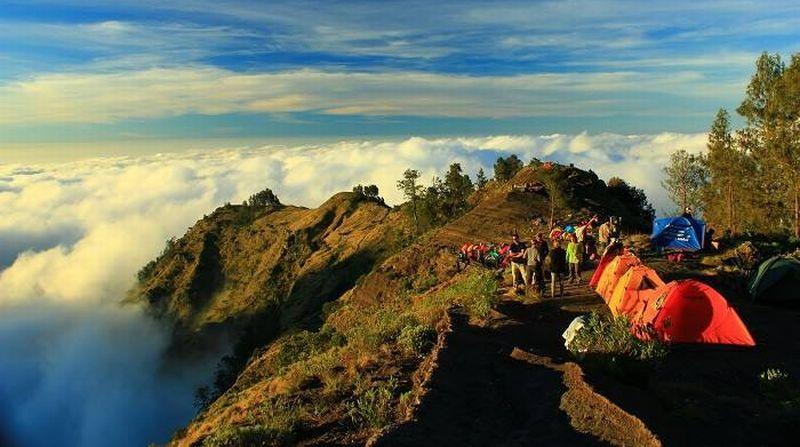 bukit pergasingan lombok 3 » Bukit Pergasingan Lombok, Wisata Alam dengan Pemandangan Memukau untuk Pendaki Pemula