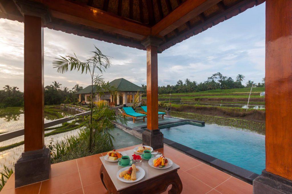 cahaya ubud villa 2 1024x682 » Cahaya Ubud Villa, Penginapan Romantis di Tengah-Tengah Hamparan Sawah