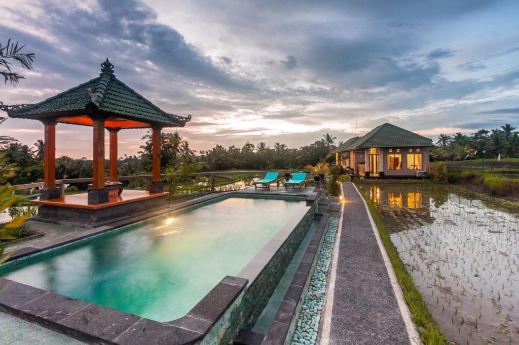 cahaya ubud villa 3 1024x682 » Cahaya Ubud Villa, Penginapan Romantis di Tengah-Tengah Hamparan Sawah