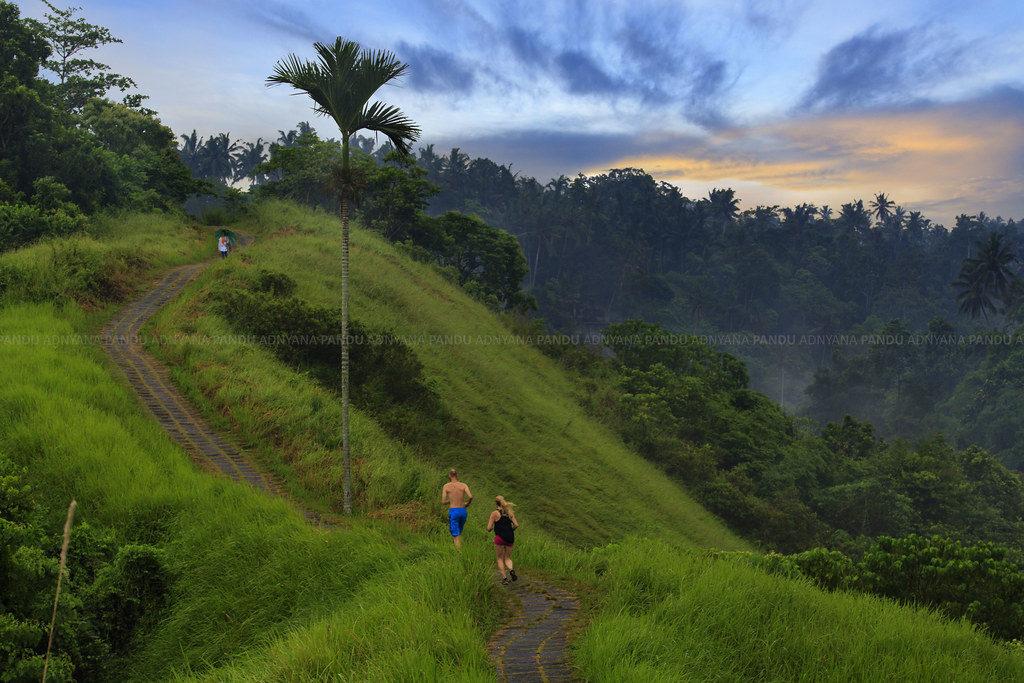 jogging track di Bali