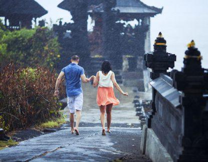 liburan saat hujan ke Bali