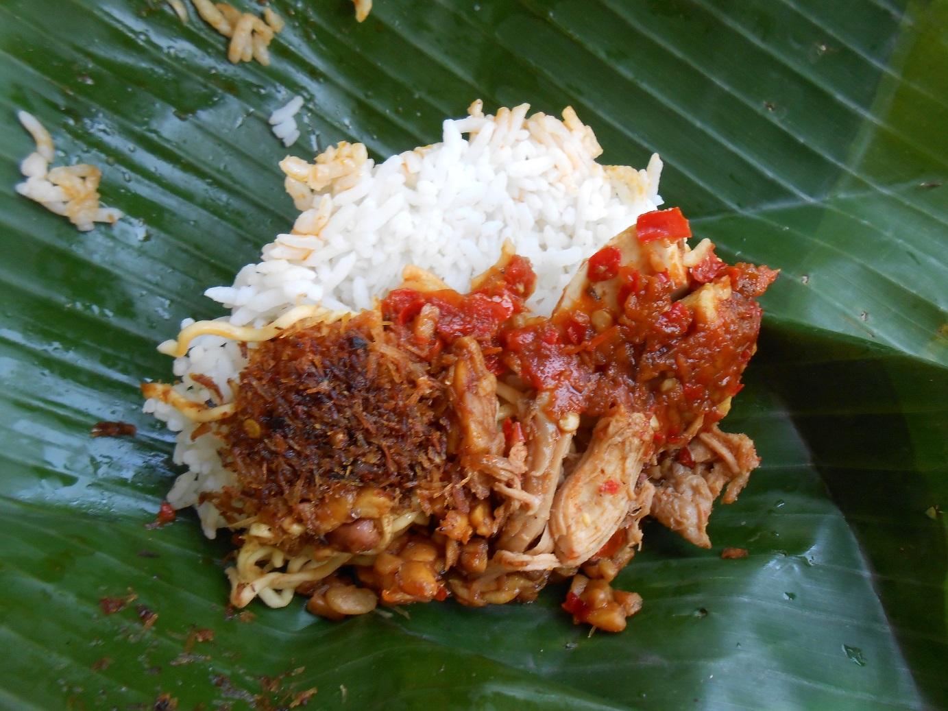 Nasi Jinggo Bali, Kuliner Murah Meriah ala Nasi Kucing dari Pulau Dewata