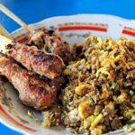 nasi lawar kuwir khas Bali