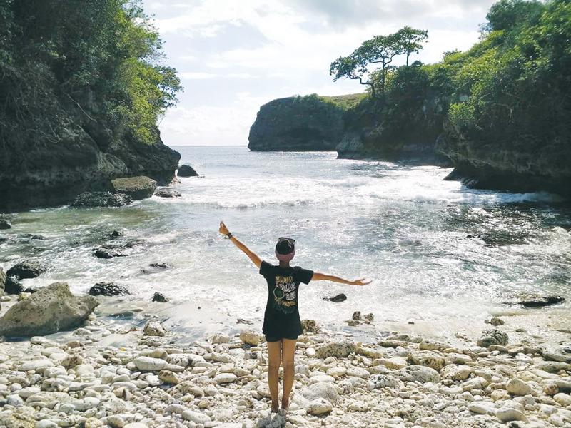 Pantai Bulian Nusa Penida, Sensasi Merasakan Keindahan Pantai Tersembunyi di Bali