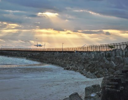 Pantai Kelan Pantai Dekat Bandara Ngurah Rai
