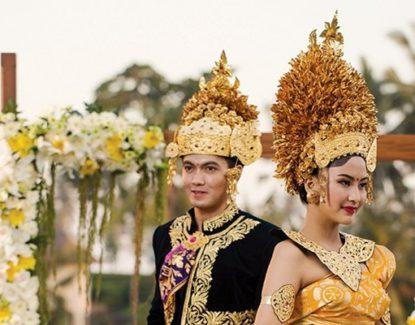 pesta perkawinan di Bali